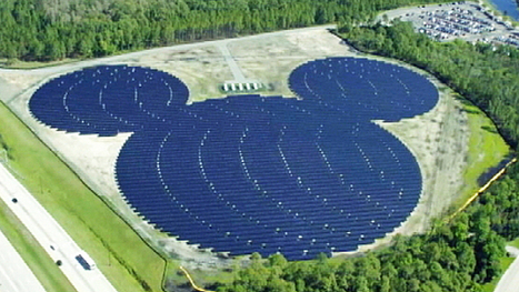 Mickey Mouse-shaped solar facility unveiled at Disney World | Bentley Systems | Scoop.it