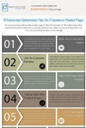 10 Conversion Optimization Tips For E-Commerce Product Pages in 2014 - Infographic | Infographics | Scoop.it