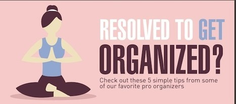 Resolved to Get Organized? Learn Tips from Organization Professionals [INFOGRAPHIC] | Social Media, Marketing and Promotion | Scoop.it