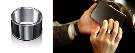GalaGreat GalaRing NFC Smart Ring Unlocks Doors, Smartphones, and Exchanges Data | Embedded Systems News | Scoop.it