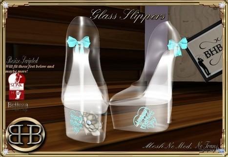Glass High Heels Gift by BHB | Teleport Hub - Second Life Freebies | Second Life Freebies | Scoop.it