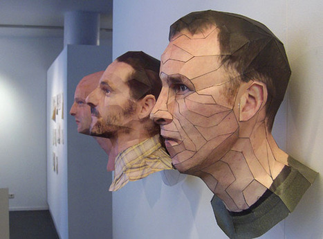 Awesome Paper 3D Portraits by Bert Simons | [THE COOL STUFF] | Scoop.it