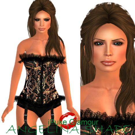 Angelina Shape by iPuke Glamour | Teleport Hub | Second Life Freebies | Scoop.it