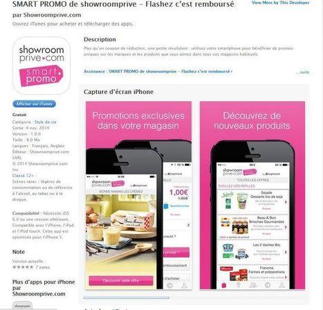 Showroomprivé s'associe à Shopmium pour créer son application mobile de promotions web-to-store | DIGITAL | Scoop.it