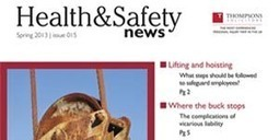 Health and Safety News - Spring 2013 | Health and Safety | Scoop.it