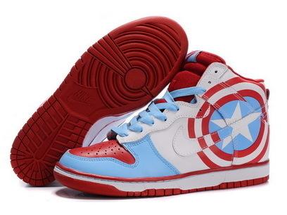 Superhero shoes-captain america nikes,captain america nike shoes | Captain Ameica Nike Shoes | Scoop.it