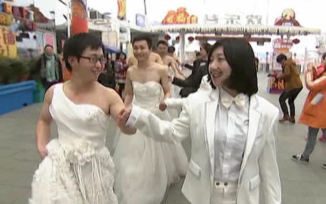 Cross-dressing marriage proposals in China | Strange days indeed... | Scoop.it