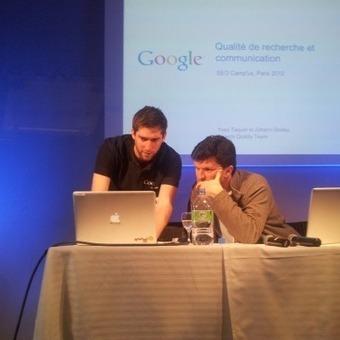 Les infos fournies par Google au SEO Campus Paris 2012 | SEO | Scoop.it