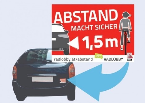 Abstand macht sicher! | Radlobby | O come all ye cyclists | Scoop.it