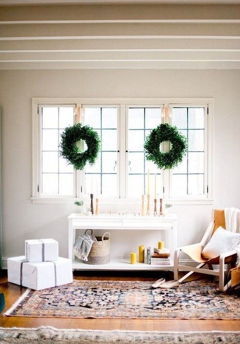 How To Ditch The Red and Green For Modern Holiday Décor | Decor and Style | Scoop.it