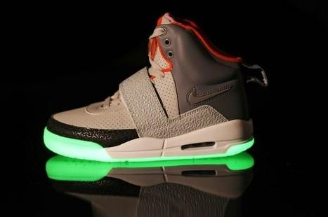 Nike Air Yeezy Glow In The Dark Grey Orange Shoes Hot Sale Online | Cheap Glow In The Dark Air Yeezy | Scoop.it