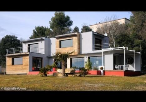 [inspiration] Visite privée : 230 m² d'écologie et de design : Projet Ecolo | Immobilier | Scoop.it