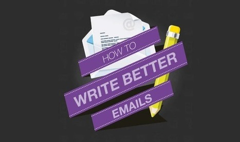 Visualistan: How to Write Better Emails #infographic | Social Media Lands | Scoop.it