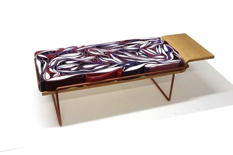 KOHL, banquette inspirée du chou rouge par Pauline Calippe - Journal du Design | Métiers d'arts - Tiers-Lieux - Innovation - maker place - fablabs | Scoop.it