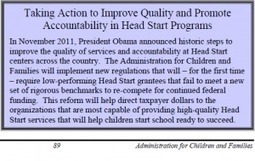 CFR 1307 in the President's 2013 BudgetRequest | CFR 1307 - Head Start Redesignation | Scoop.it