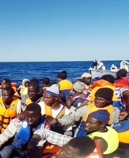 More than 500 migrants rescued off Libya coast - News24 | Saif al Islam | Scoop.it