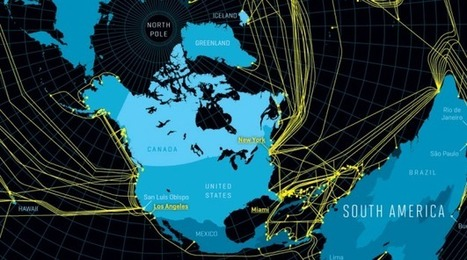 Map of the underwater Internet | Data Visualisation | Scoop.it