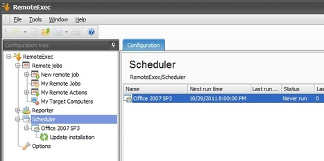 How to remotely deploy Office 2007 Service Pack 3 outside of office hours | IS Decisions | Scoop.it