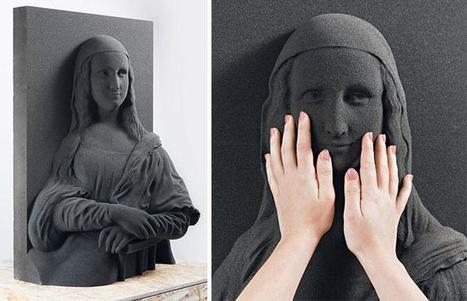 3D-printed classic paintings allow the blind to 'see' fine art | FabLab - DIY - 3D printing- Maker | Scoop.it