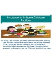 Insurance for in home childcare facilities | Insurance Company | Scoop.it