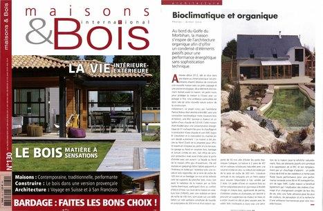 Maison bioclimatique à Baden (2012)«Maisons & Bois international N°130-2016 »-a.typique patrice BIDEAU | architecture..., Maisons bois & bioclimatiques | Scoop.it