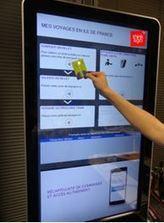 Deux Français s'allient pour créer les futurs écrans connectés des transports publics - VIPress.net | NFC marché, perspectives, usages, technique | Scoop.it