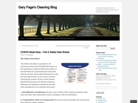 COSHH Made Easy - Part 2 Safety Data Sheets | Global Harmonized Systems | Scoop.it