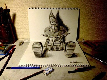 3D art by Japanese artist Nagai Hideyuki - Telegraph | Strange days indeed... | Scoop.it