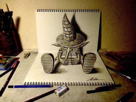 3D art by Japanese artist Nagai Hideyuki - Telegraph   Strange days indeed...   Scoop.it