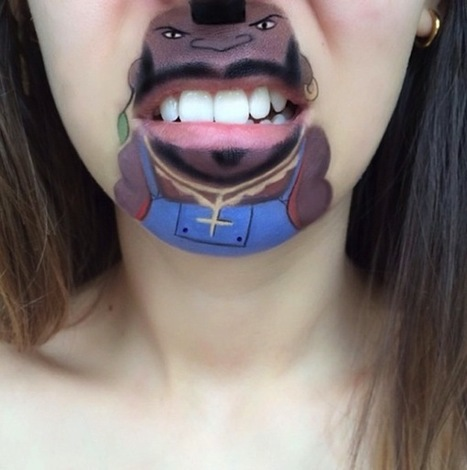 Funny Makeups | inspiration photos | picturescollections | Scoop.it