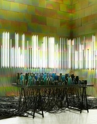 The Conductor: interactive installation by Faye Toogood for Established & Sons | URDesign Magazine | Luminous Art | Scoop.it
