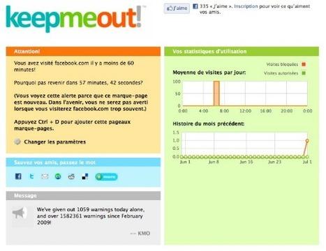 KeepMeOut : désintoxiquez-vous | Misc Techno | Scoop.it