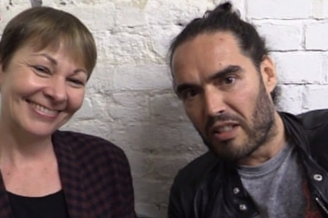 Russell Brand ditches his anti-voting stance to officially endorse this party | Peer2Politics | Scoop.it