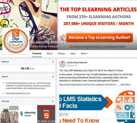 Using Facebook For eLearning: The Ultimate Guide For eLearning Professionals - eLearning Industry | Teaching and Learning software and topics | Scoop.it