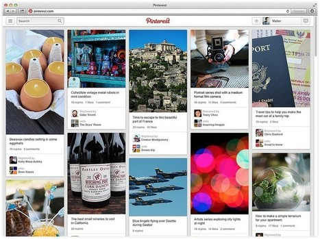 Pinterest Plans International Expansion as Valuation Boosted to $3.8bn | Social is Visual by Heaven | Scoop.it