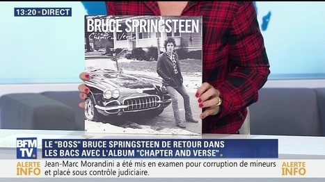 "Bruce Springsteen marque son retour avec ""Chapter And Verse"" - BFM TV 