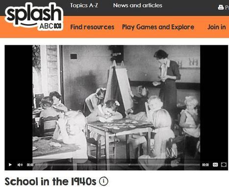 School in the 1940s - History (1,2,3)   Primary History - Australian Curriculum Topics   Scoop.it