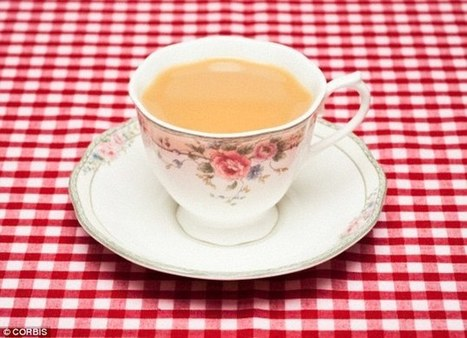 Forget milk - TEA could be the secret to strong bones | Kickin' Kickers | Scoop.it