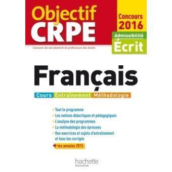 Français : admissibilité écrit : [concours 2017] -- Véronique Bourhis, Laurence Allain-Le Forestier | Les nouveautés de la médiathèque | Scoop.it