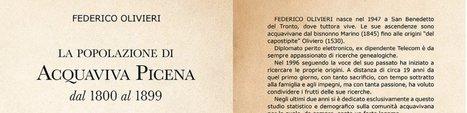 La popolazione di Acquaviva Picena dal 1800 al 1899 | Généal'italie | Scoop.it