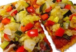 Vegan Pita Bread Pizza - ridiculously easy and delicious | My Vegan recipes | Scoop.it
