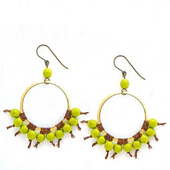 DIY Earrings by Erin Siegel | Fashion, Jewelry and DIYs | Scoop.it