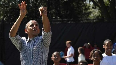 Obama Goes 2 For 22 On Basketball Court - ABC News (blog)   Super Sports   Scoop.it