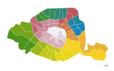 PROPOSITIONS d'Anne Hidalgo: A quoi pourrait ressembler la NOUVELLE carte de Paris ? | URBANmedias | Scoop.it