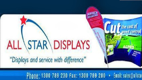All Star Displays - Portable Displays | All Star Displays (Trade Show Stands Exhibition Displays) | Scoop.it