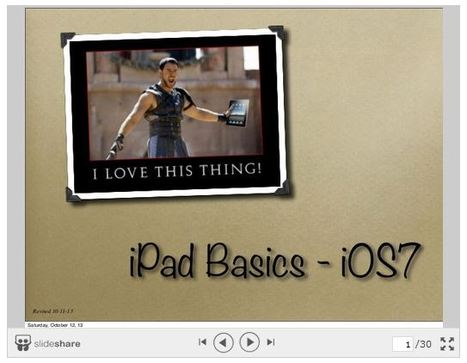 iPad Basics Students Need to Know about ~ Educational Technology and Mobile Learning | iPad i undervisningen | Scoop.it