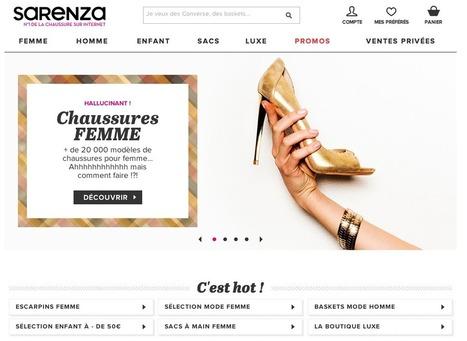 Sarenza s'affirme avec un nouveau logo | Identité de marque | Scoop.it