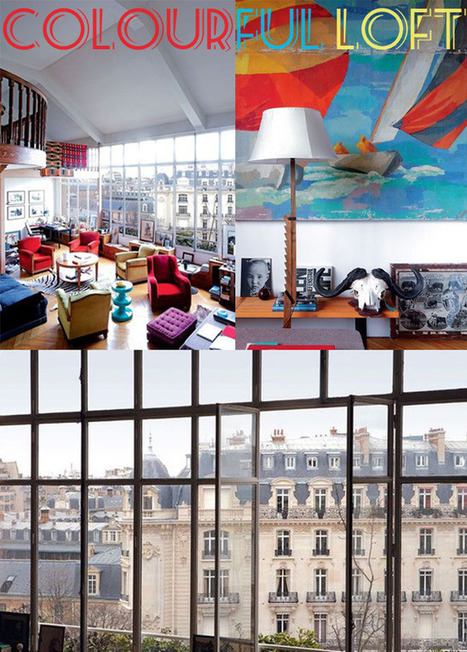 Happy Interior Blog: A Traveler's Colourful Loft | Interior Design & Decoration | Scoop.it