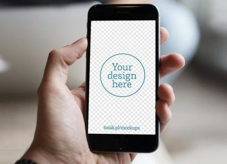 12 Free iPhone 6 Mockups PSD | PSD Mobile User Interface | Scoop.it