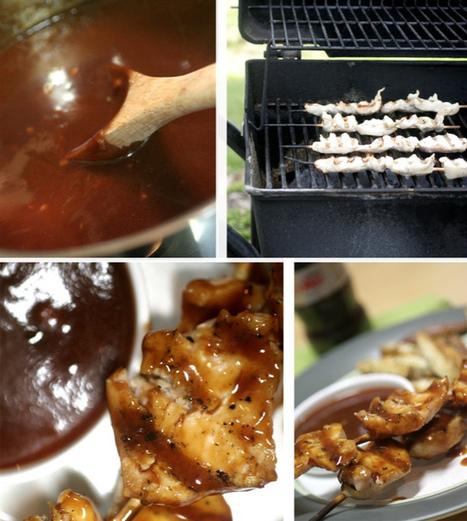 Coca-Cola® BBQ Chicken Kabobs | Annie Haven | Haven Brand | Scoop.it